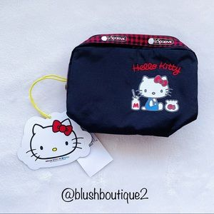 NWT Lesportsac X Hello Kitty Cosmetic Bag